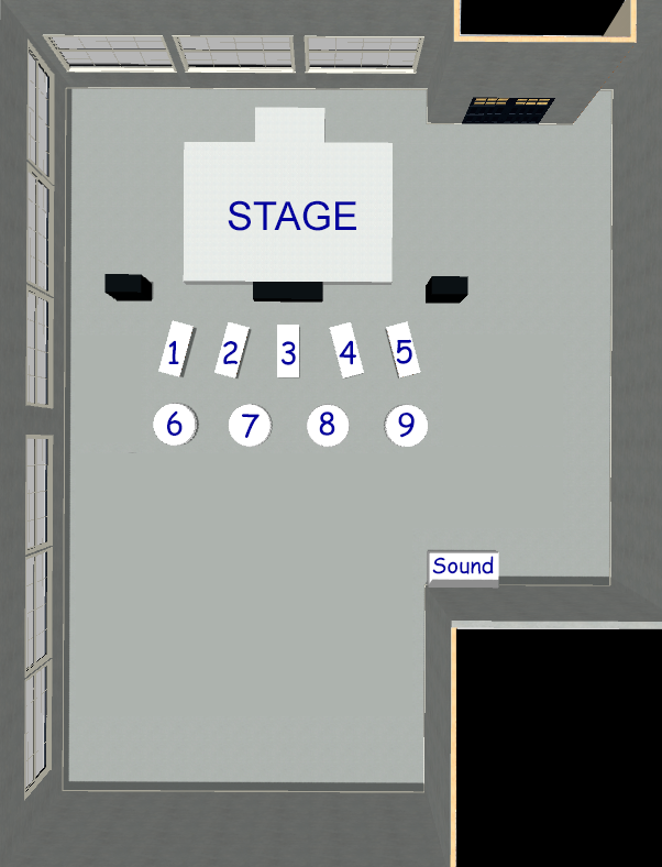 Reserve Seat Layout