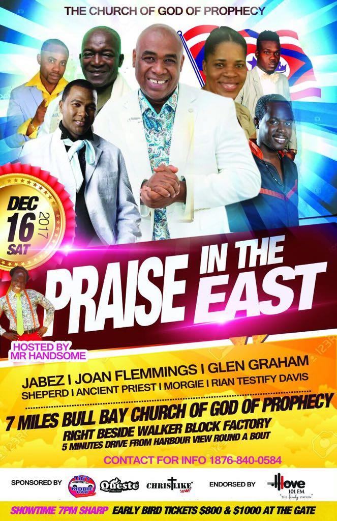 Praise In The East Flyer
