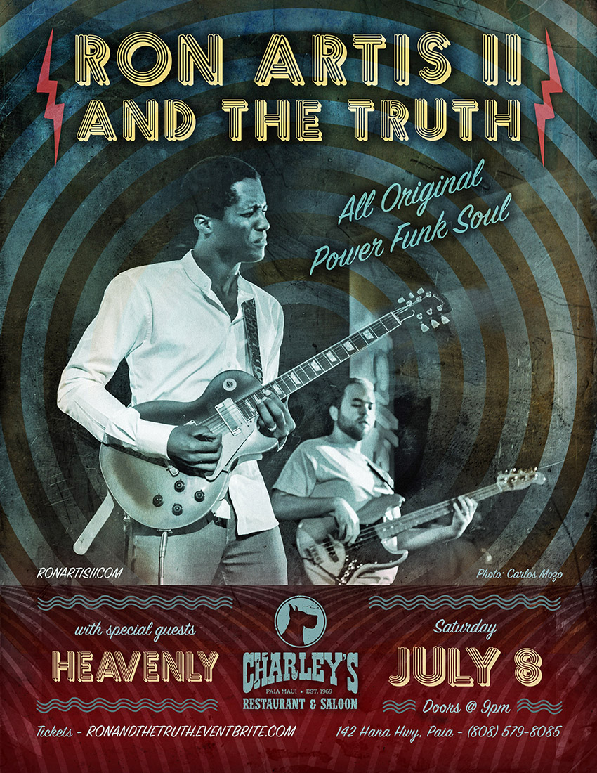 ron artis and the truth charleys july 8
