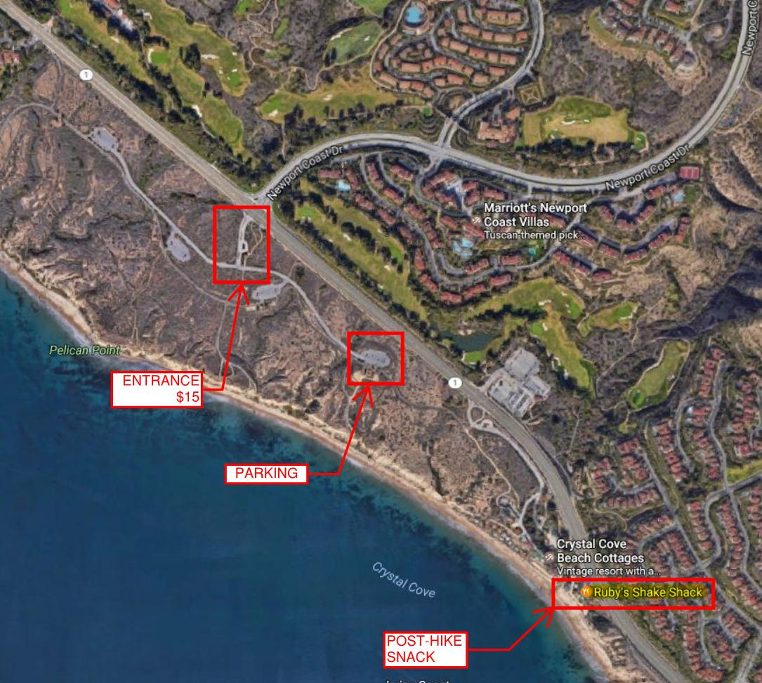 Crystal Cove Hike_Parking