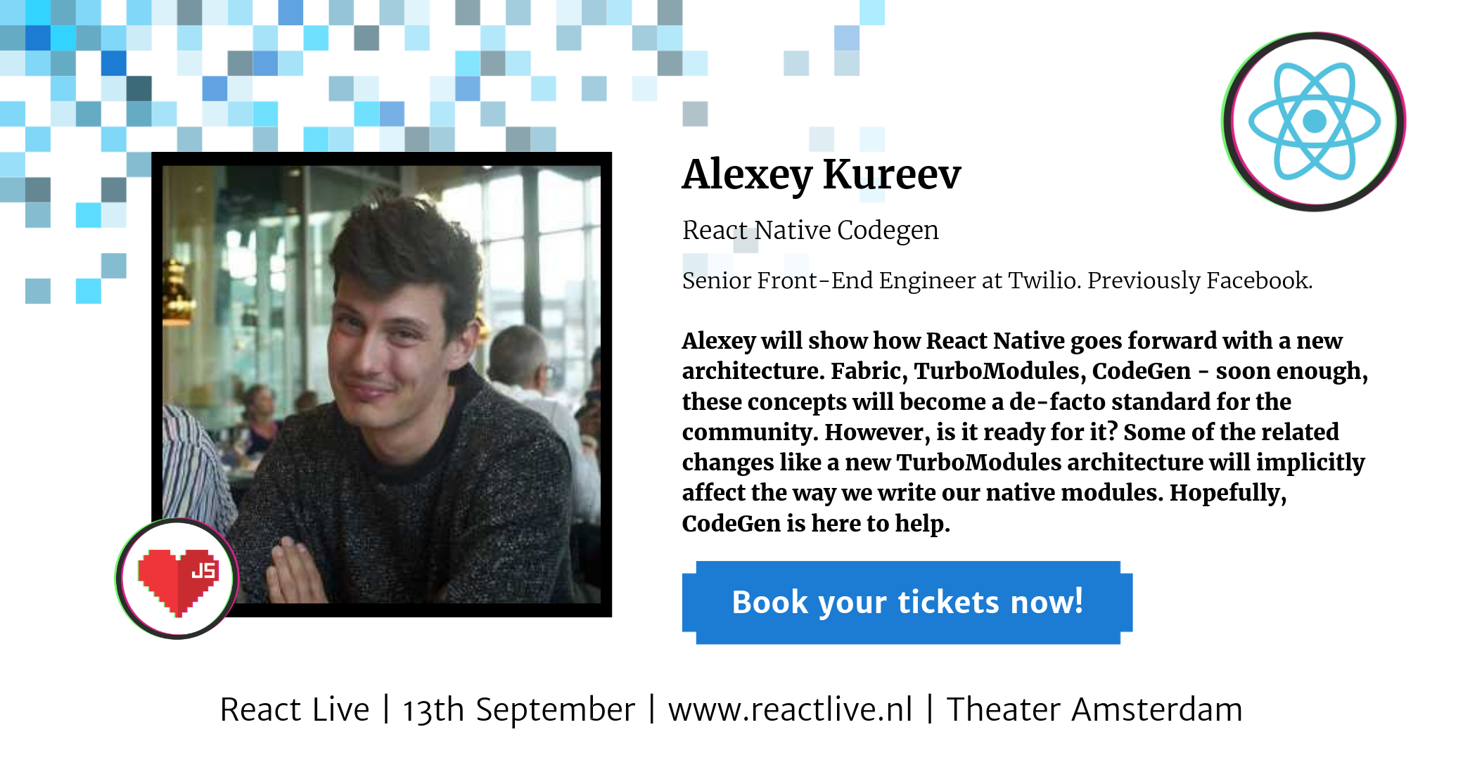 Alexey Kureev at React Live