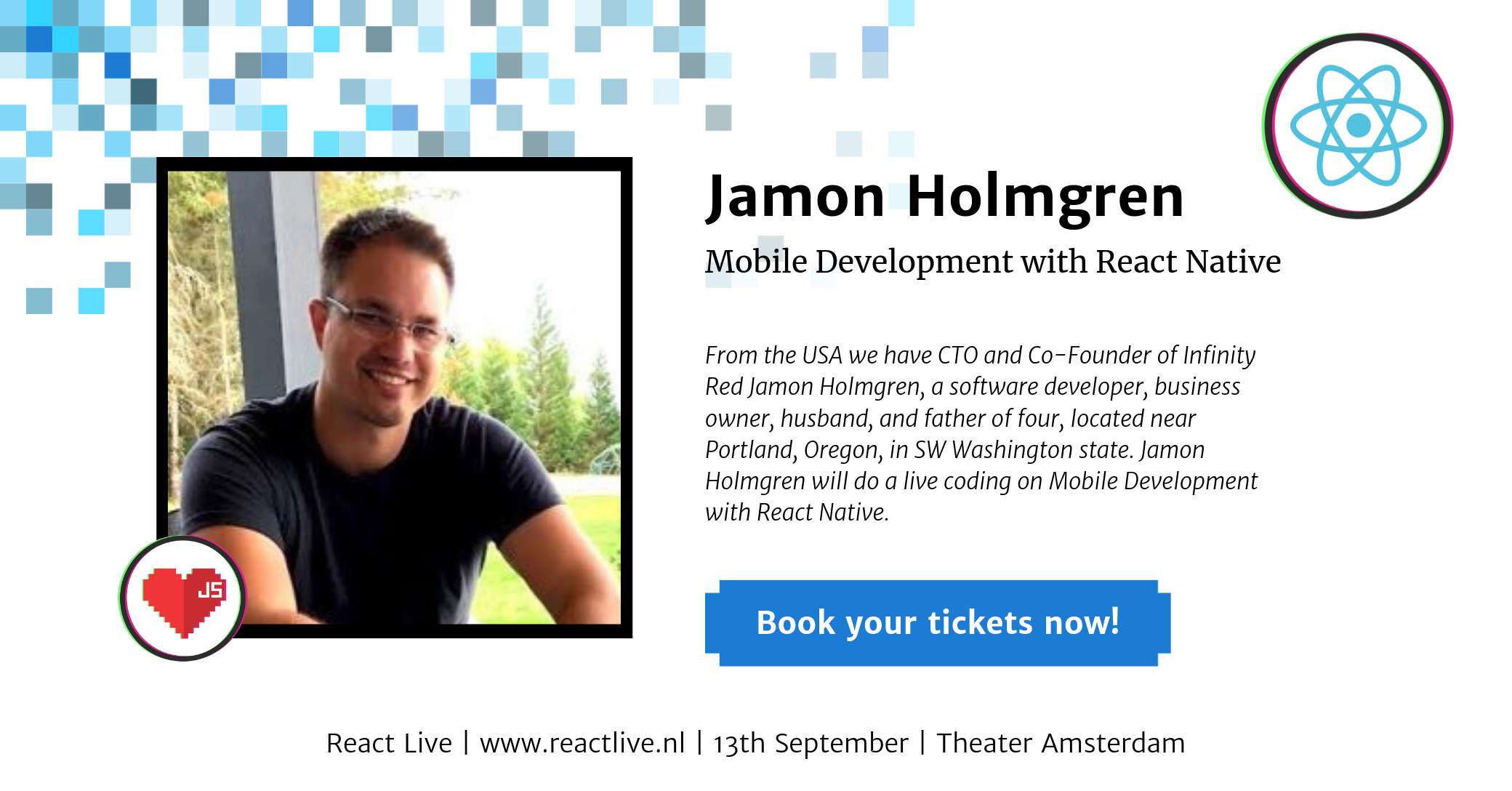 Jamon Holmgren at React Live