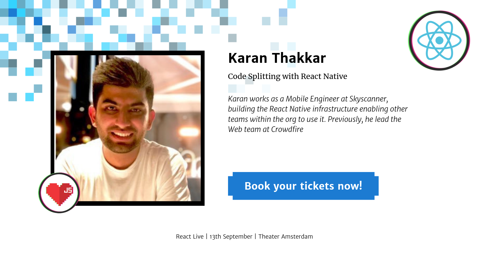 Karan Thakker at React Live