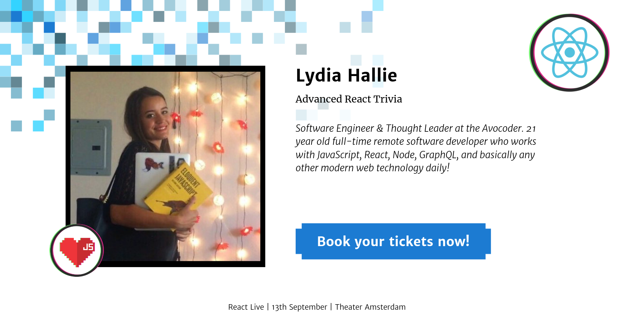Lydia Hallie at React Live