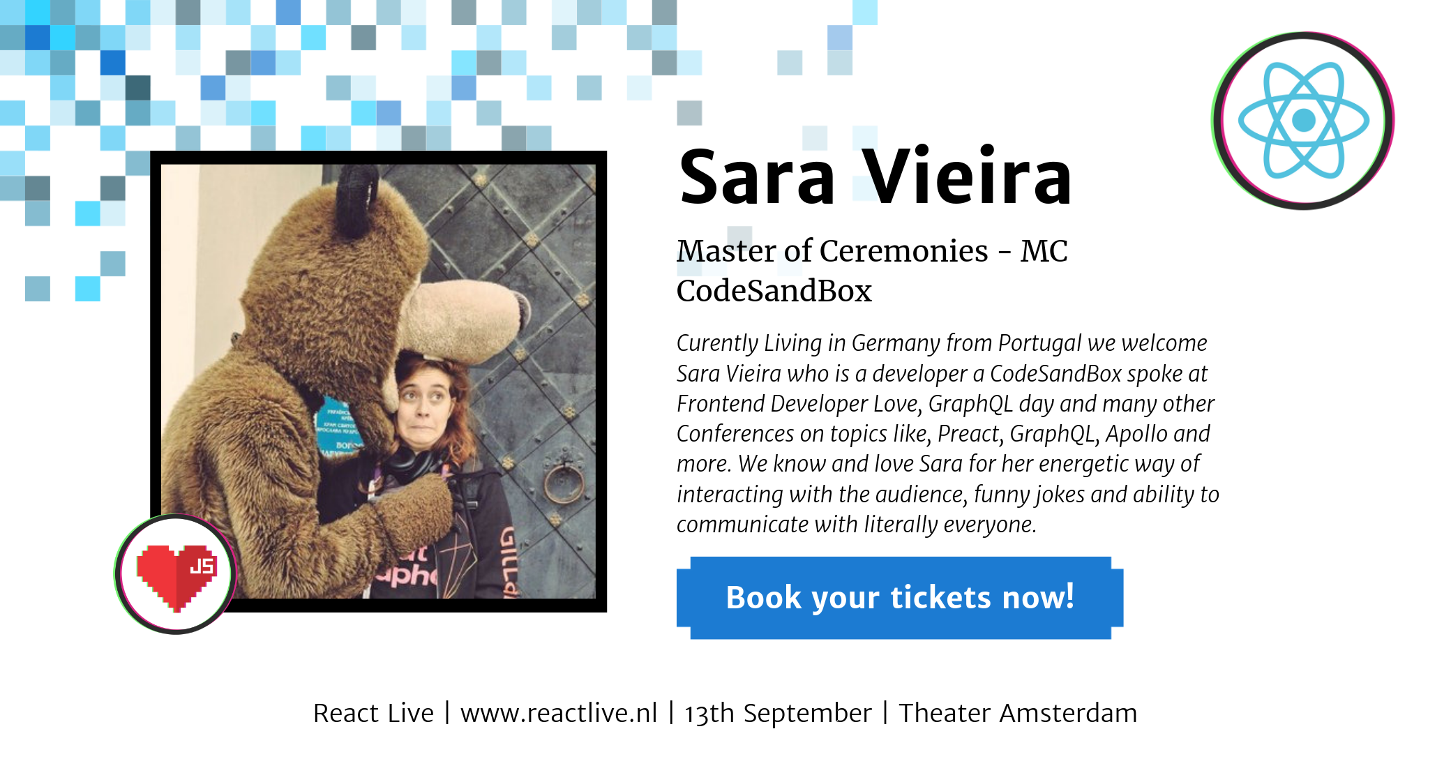 Sara Vieira at React Live