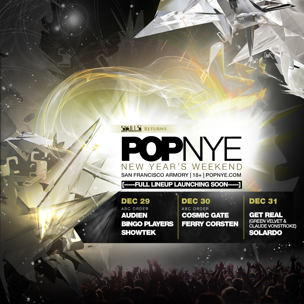 POPNYE 2018 lineup