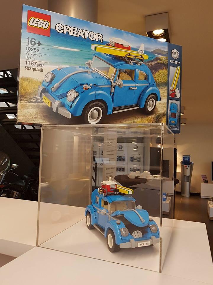 Volkswagen Beetle Lego Creator