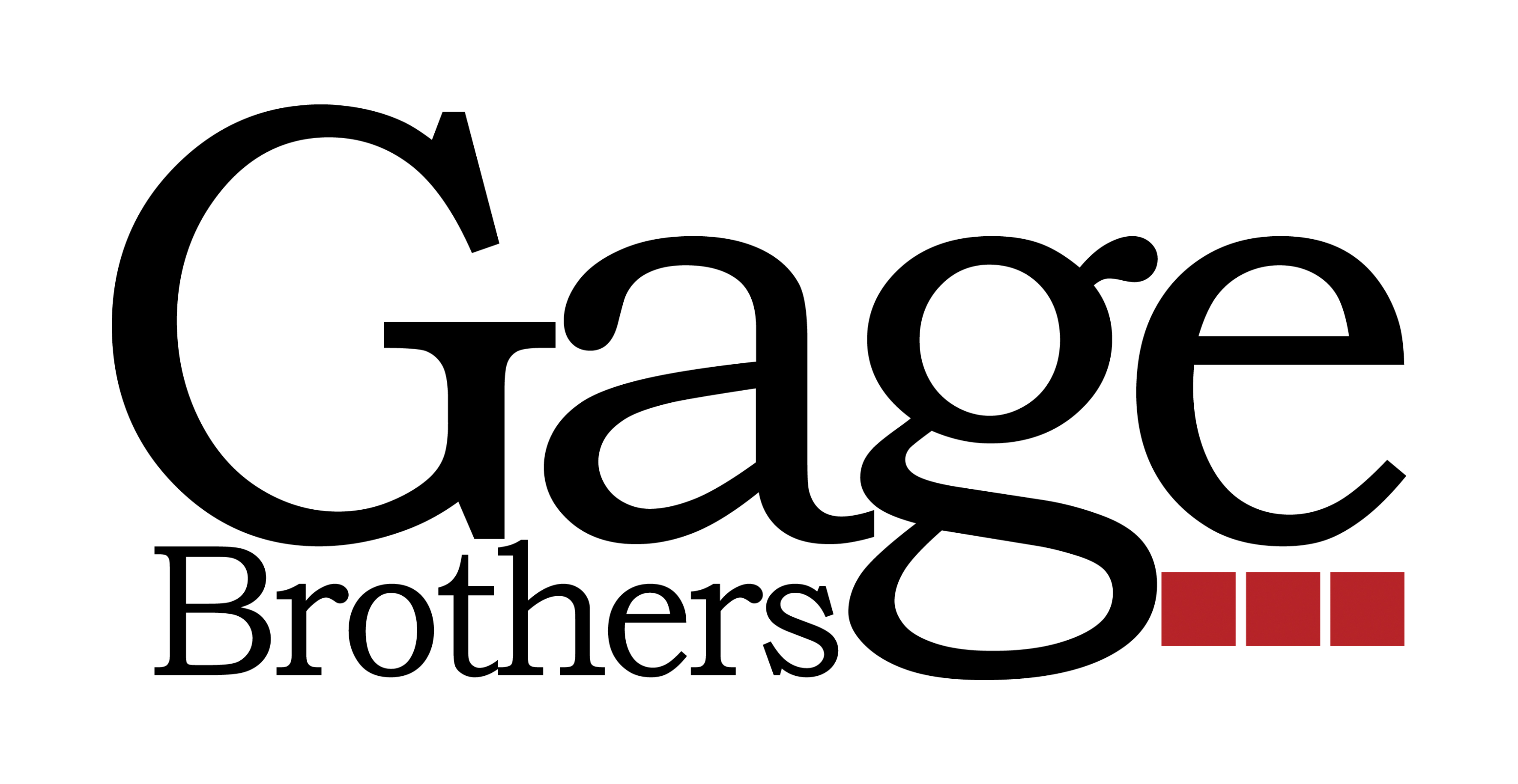 Gage brothers logo