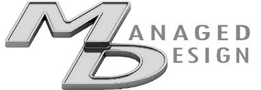 Managed Design logo