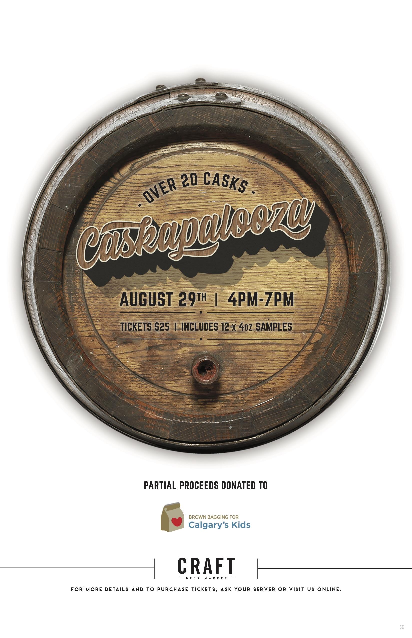 Caskapalooza Beer Sampling Event 2019