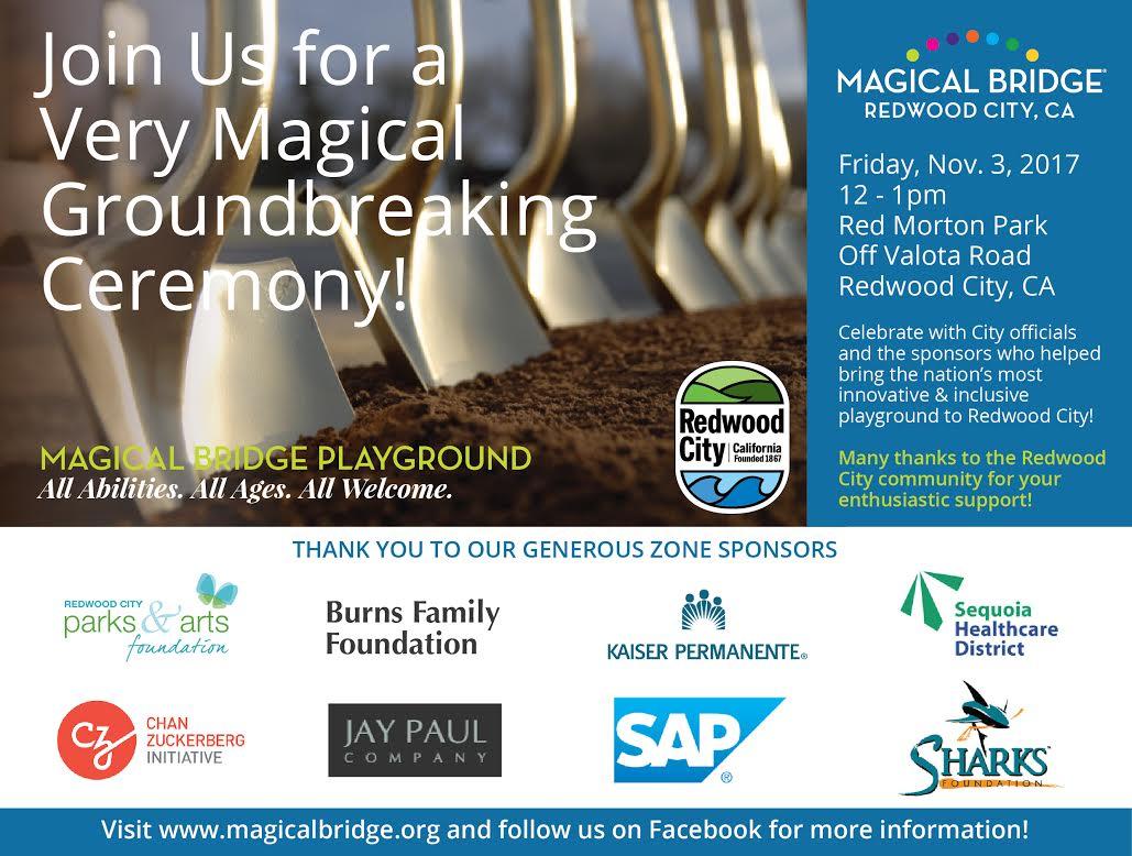 Redwood City Groundbreaking Event Image