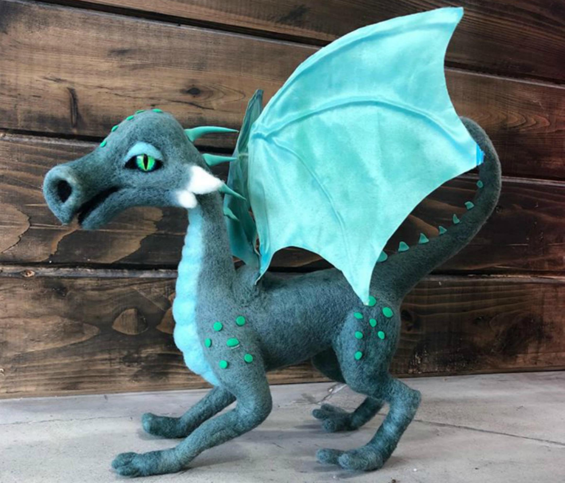 SoulFibre Studio | Dragon | Fly in the Fibre | Creston BC