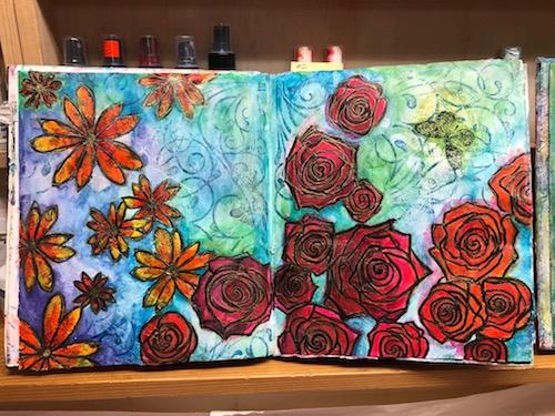 Art Journal | Lynne's Art World | Fly in the Fibre | Creston BC