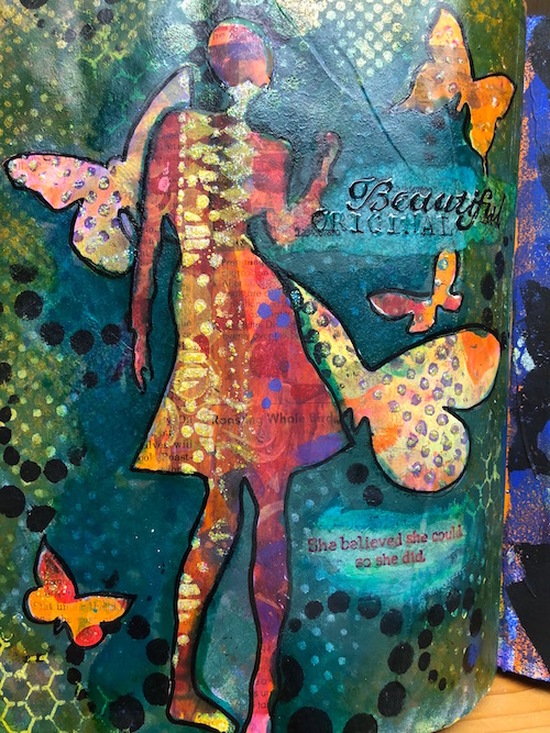 Lynne's Art World | Fly in the Fibre | Creston BC