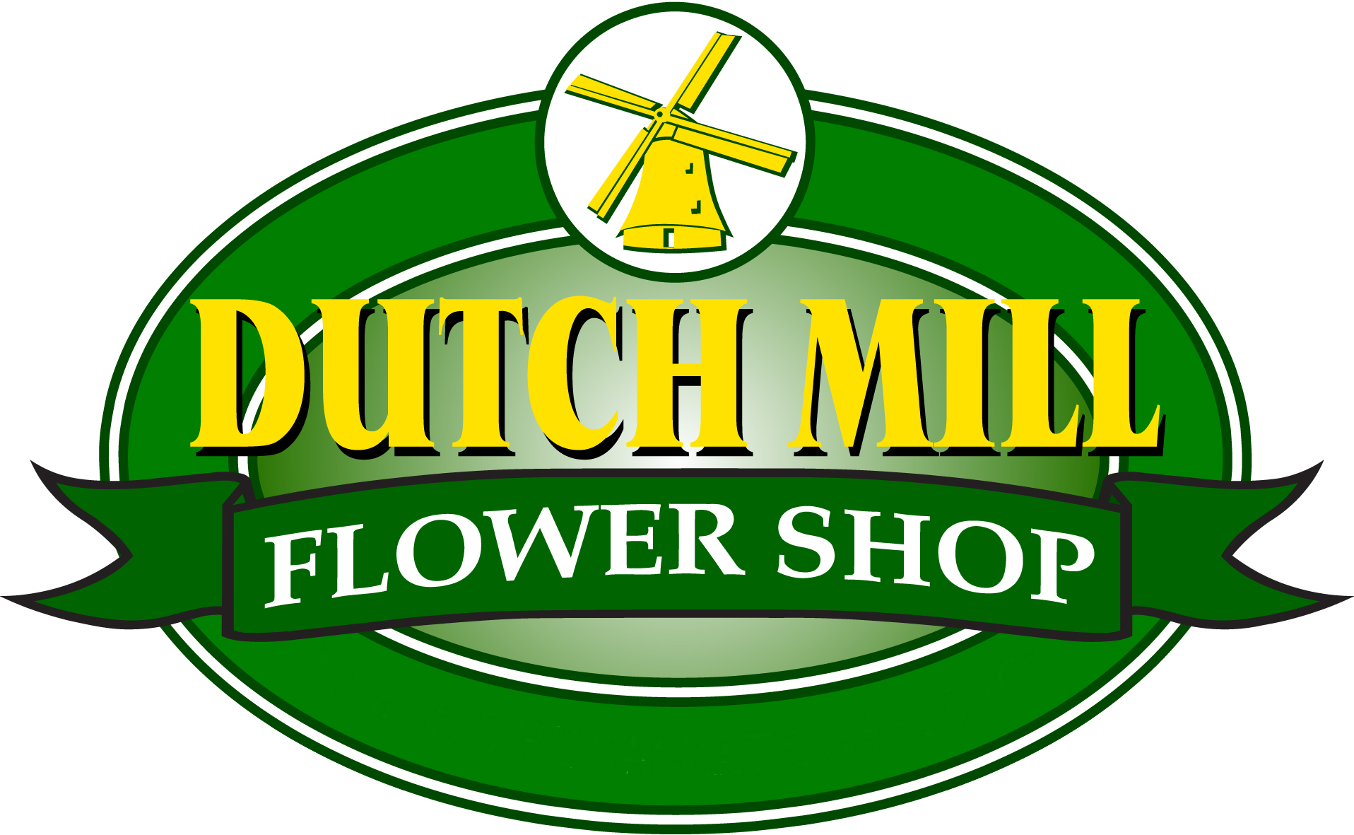 A Dutch Mill Flower Shop
