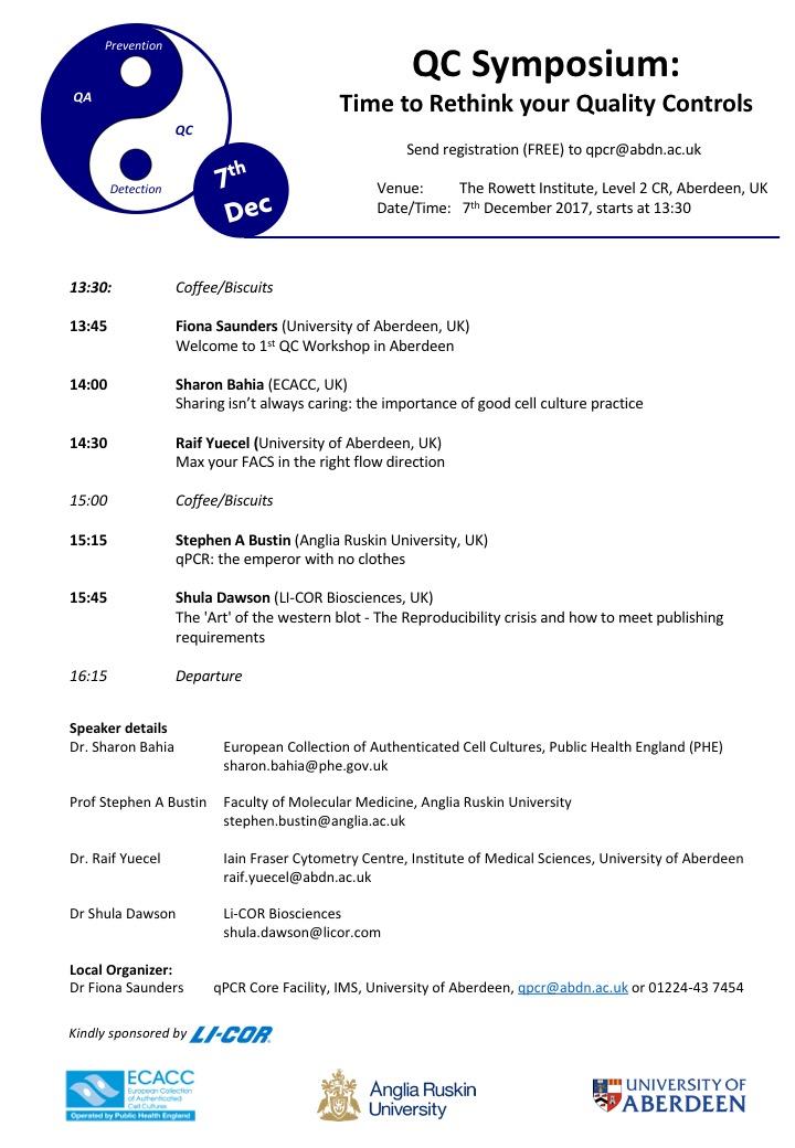QC symposium