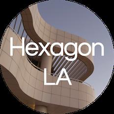 Hexagon UX LA logo