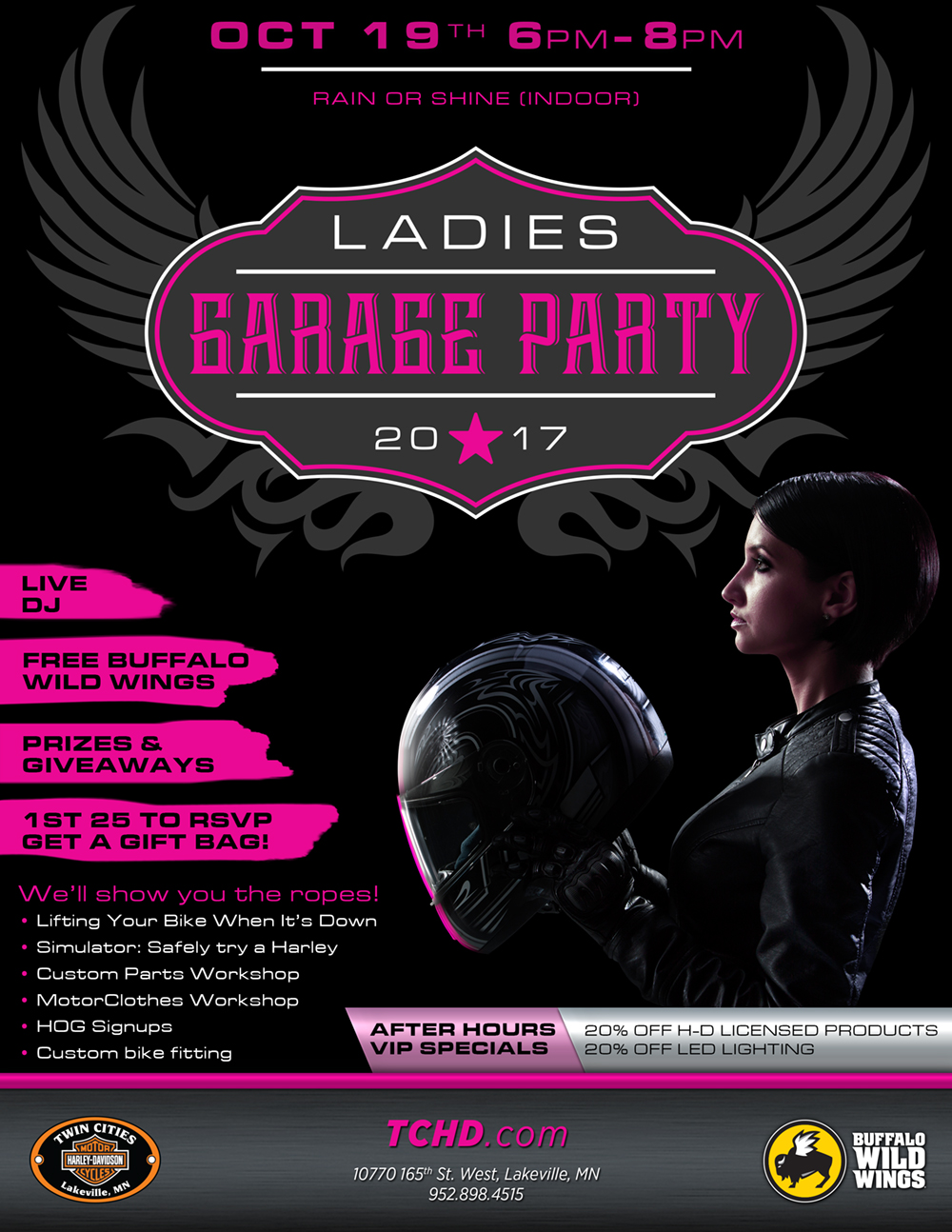 Ladies Garage Party - Twin Cities Lakeville Harley-Davidson