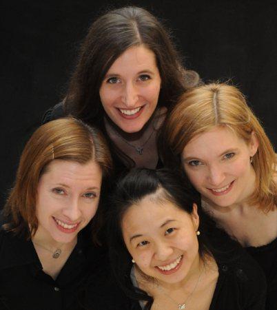 L. to R. - Jen Kozel, Jennifer Glenn, Pam Liu, Erika Pierson