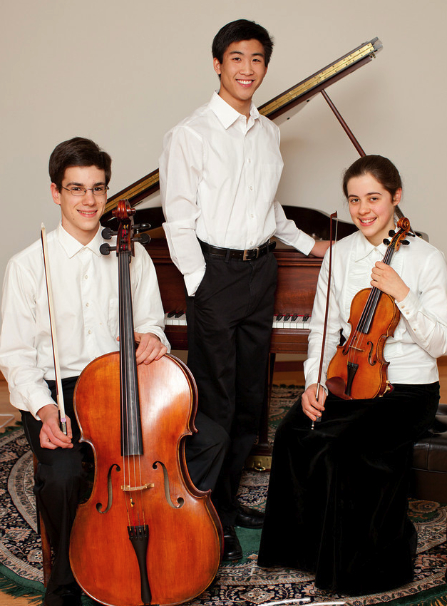 Sarah Hall, Violin; Daniel Hwang, Piano; Aaron Hall, Cello