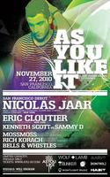 As You Like It presents Nicolas Jaar