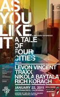 As You Like It: A Tale of Four Cities