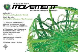 As You Like It & Paxahau present an Official Movement 2011...