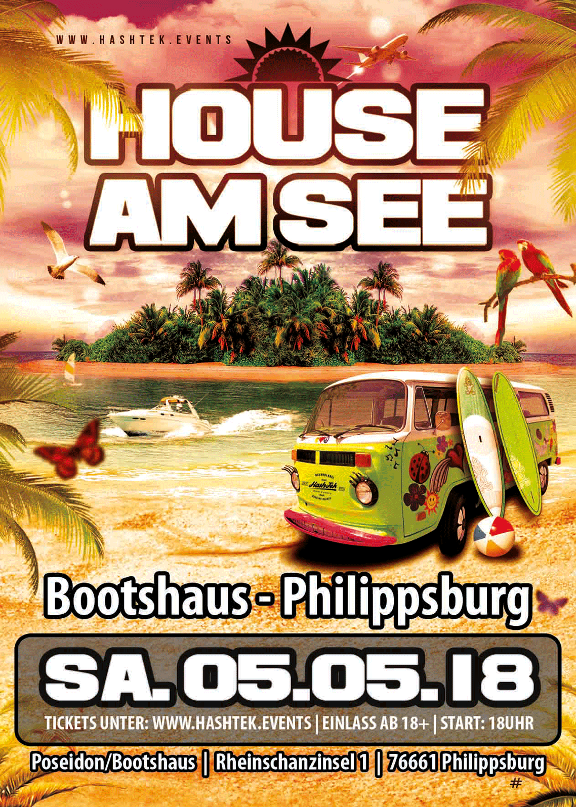 HOUSE AM SEE - Philippsburg - Bootshaus