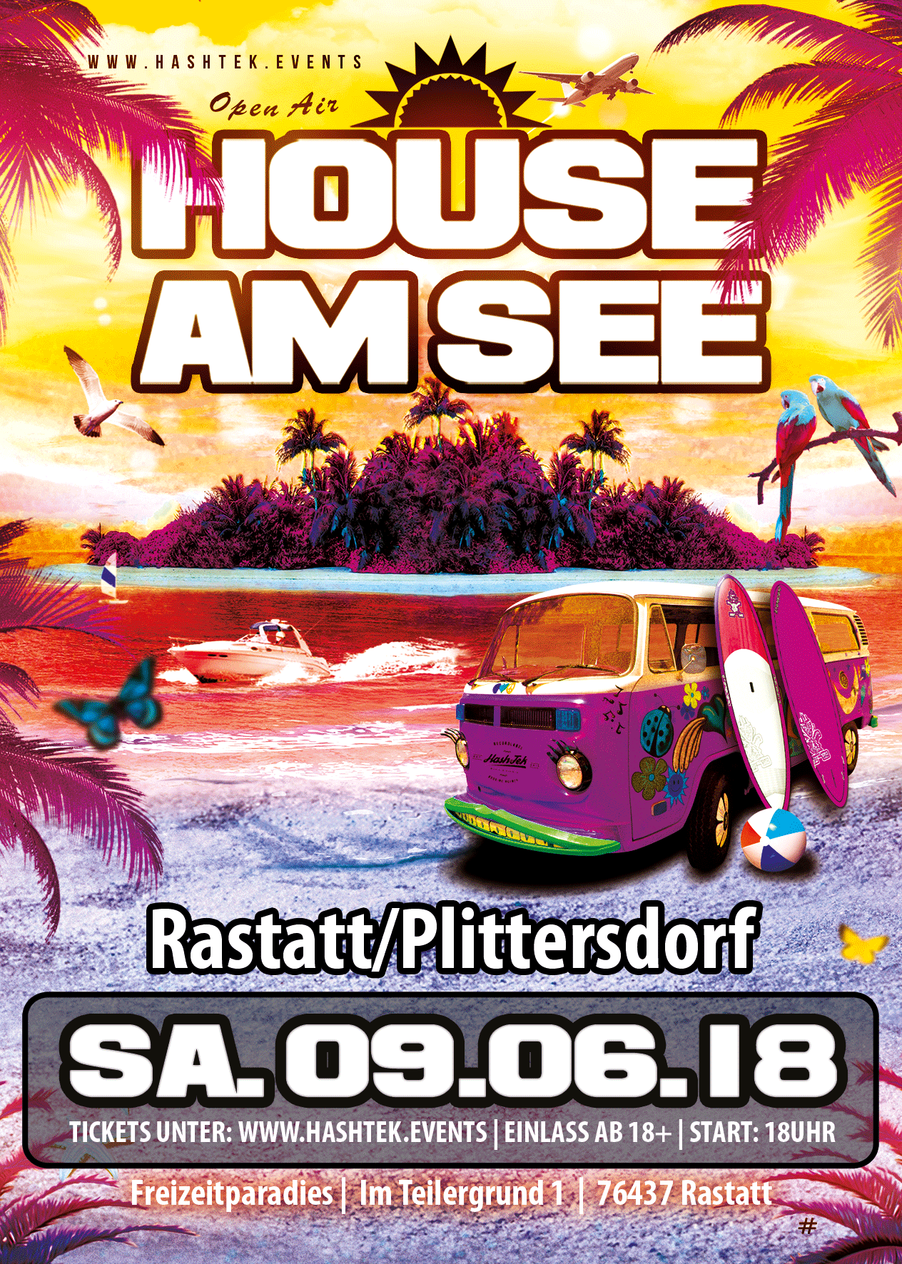 HOUSE AM SEE - Rastatt - Freizeitparadies