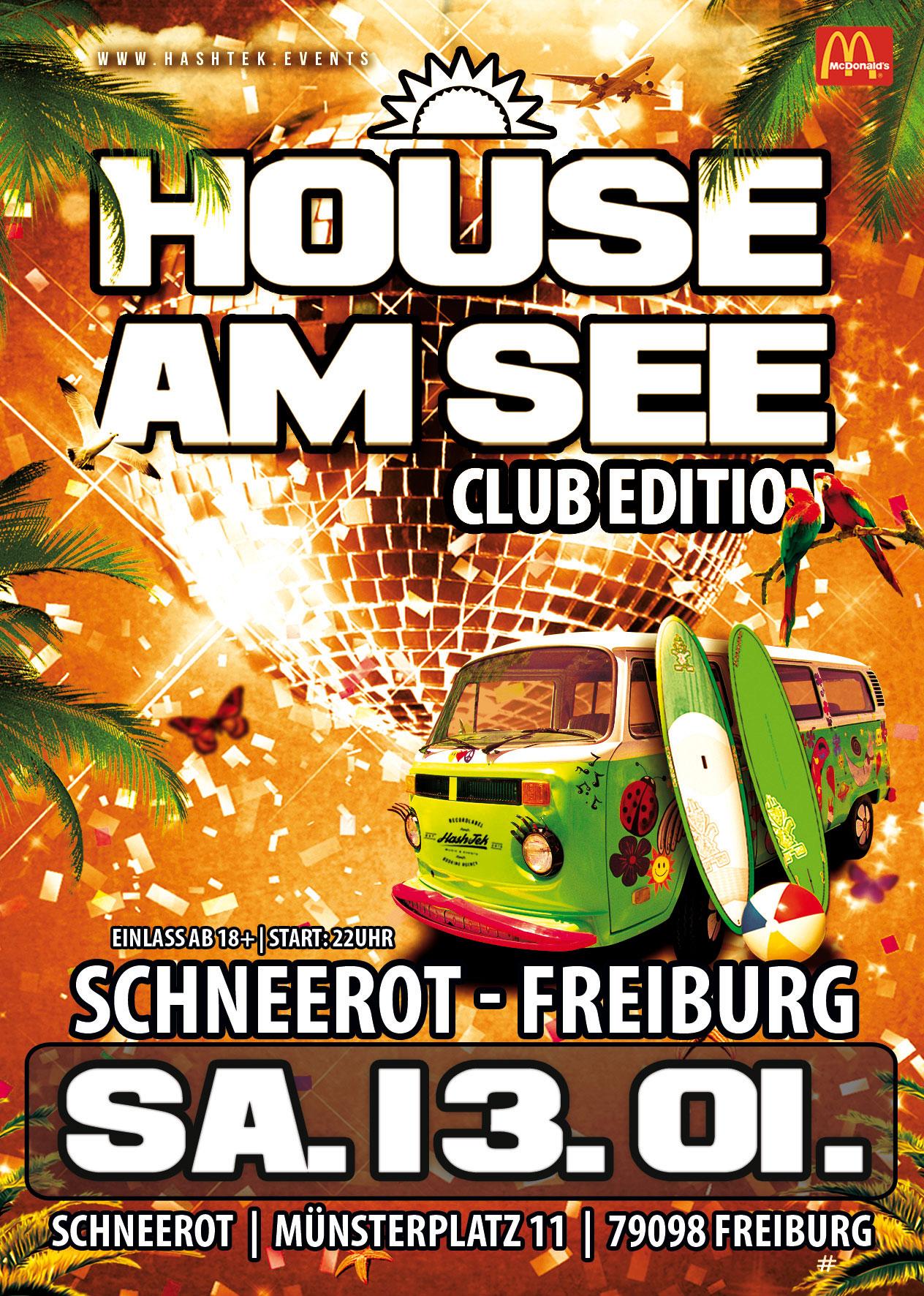 House am See Club Tour- Januar 2018 Schneerot Freiburg