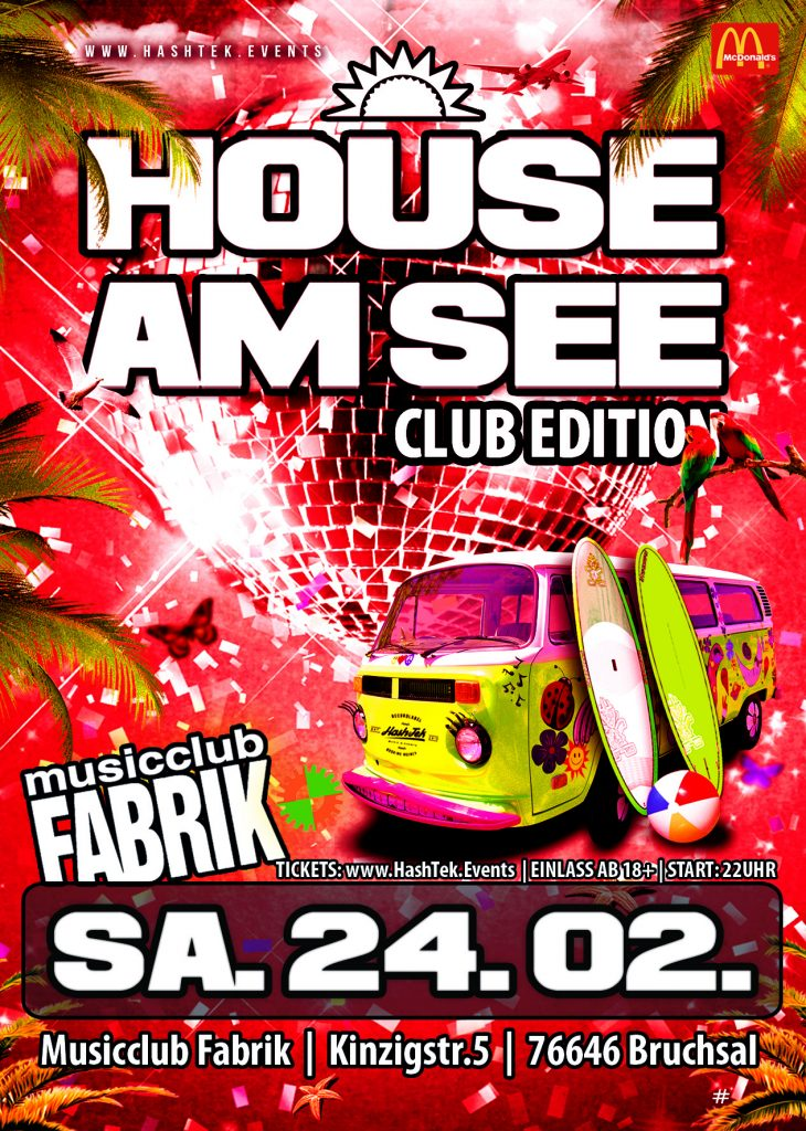 Bruchsal House am See Club Show