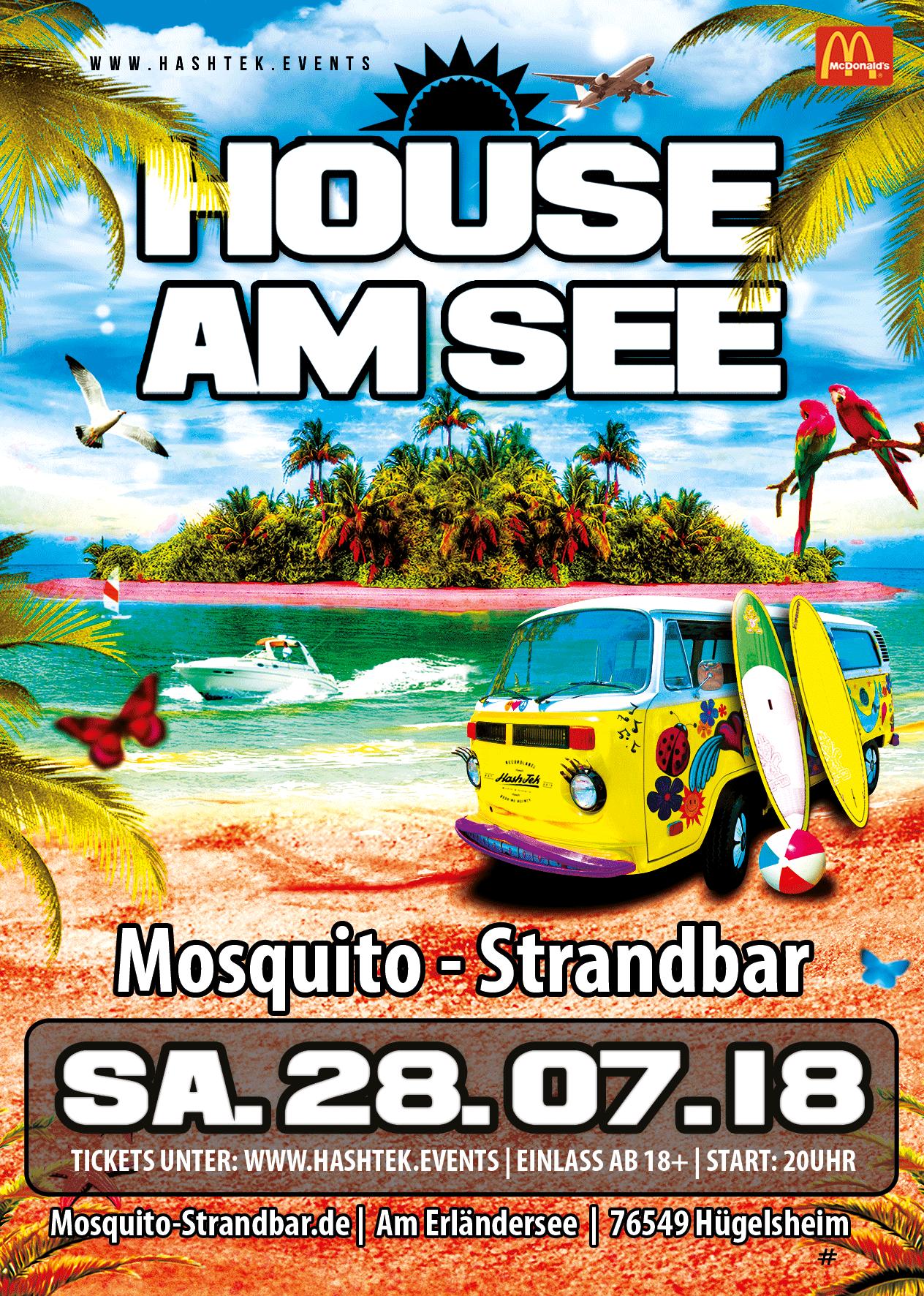 House am See - Mosquitobar - Mosquito Strandbar Hügelsheim