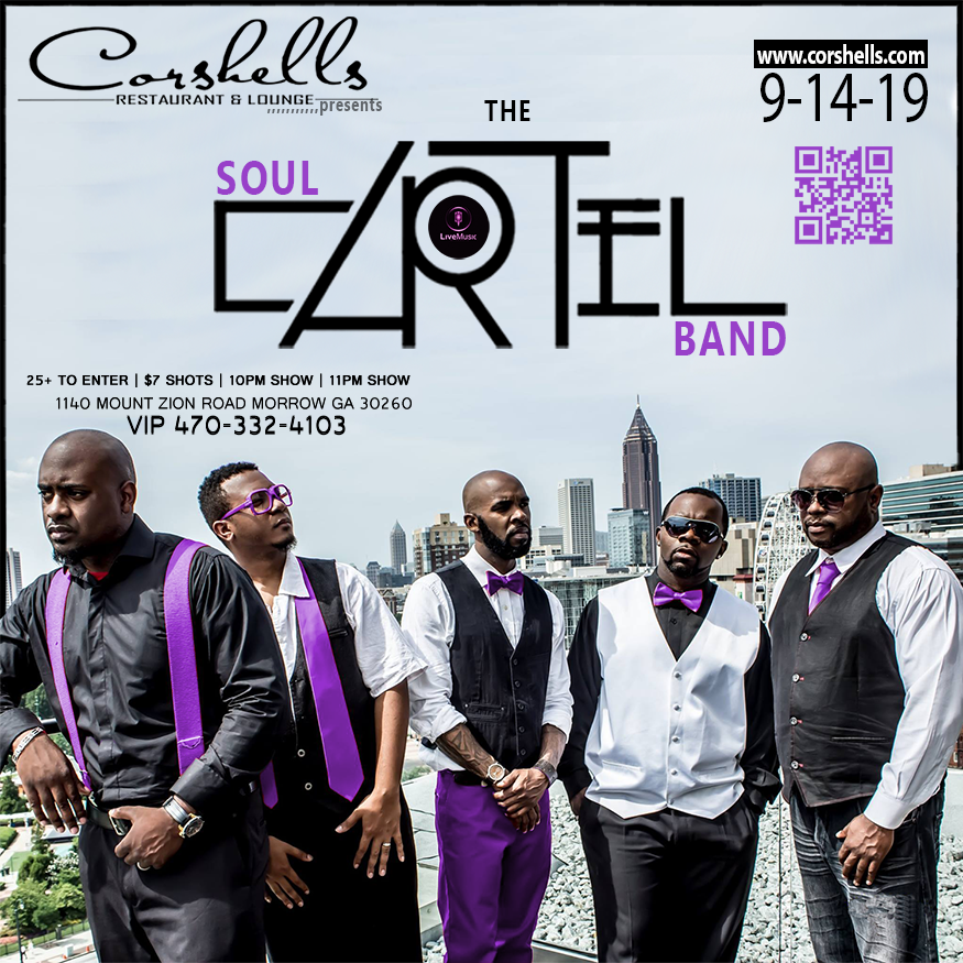 The Soul Cartel Band & The Falcons Weekend @ Corshells