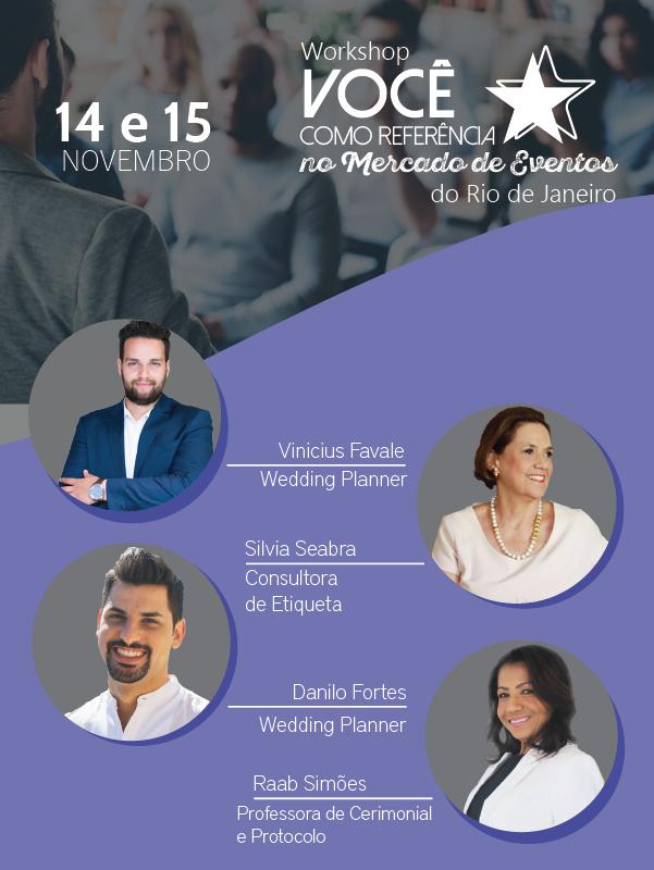 Workshop Você Como Referência no Mercado de Eventos do Rio de Janeiro