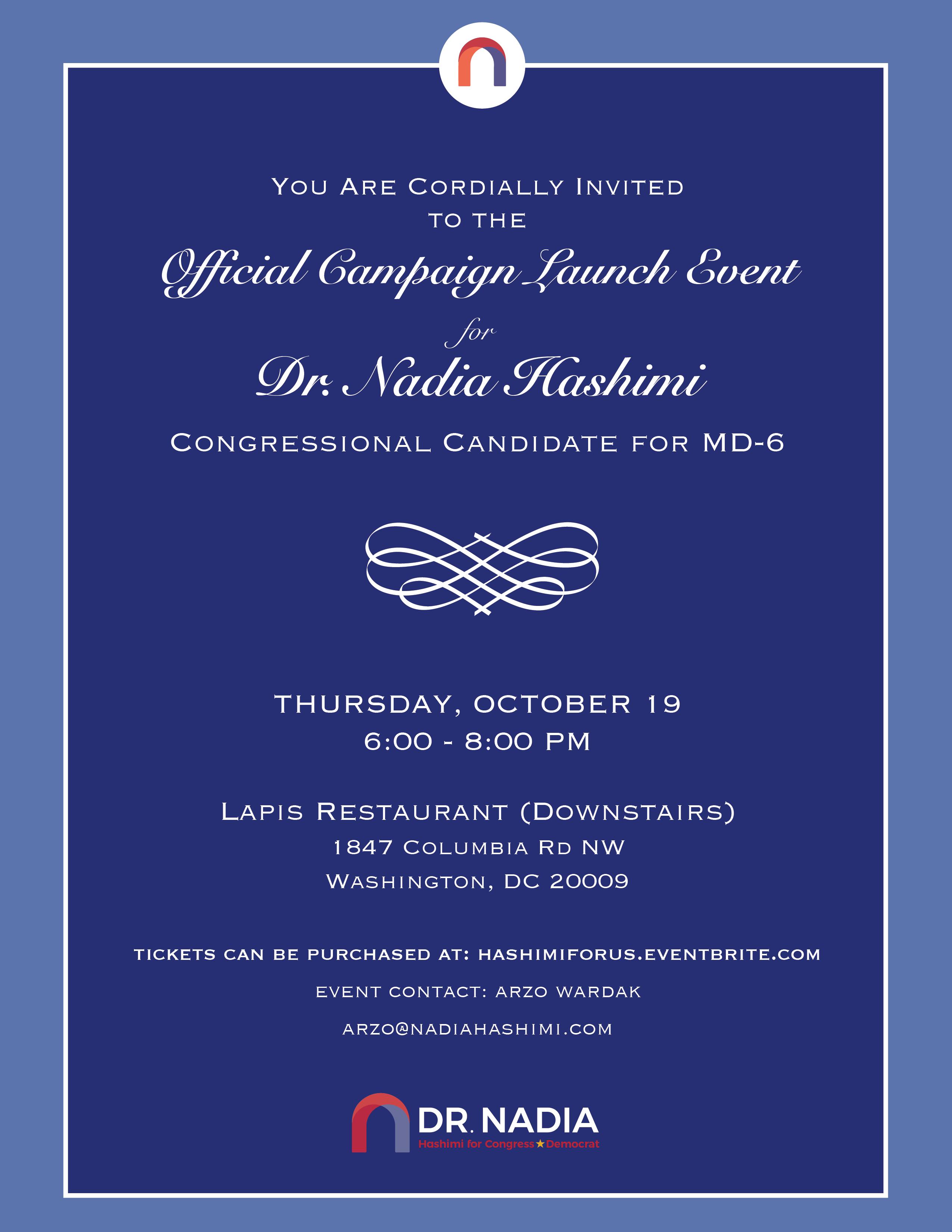 Official Invitation