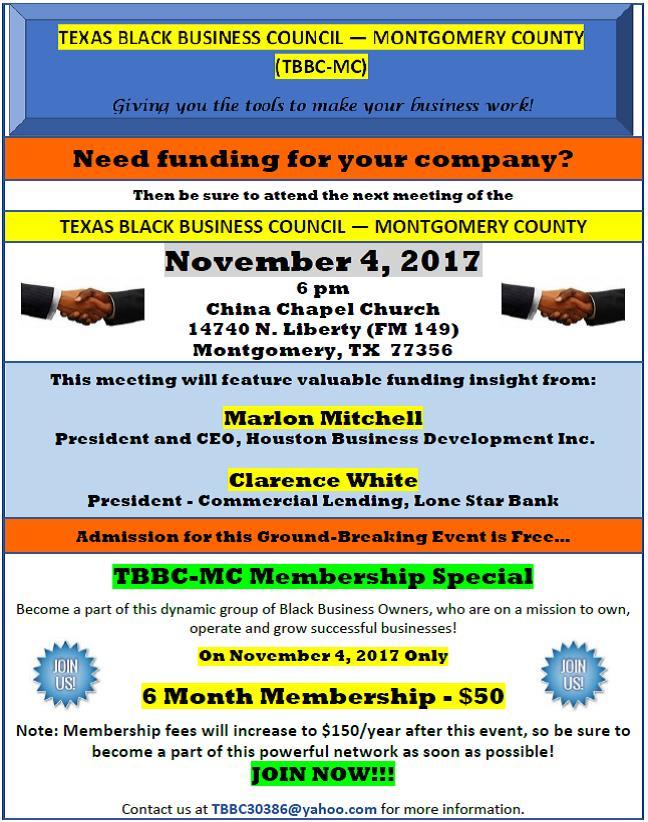 Finance Seminar Flyer
