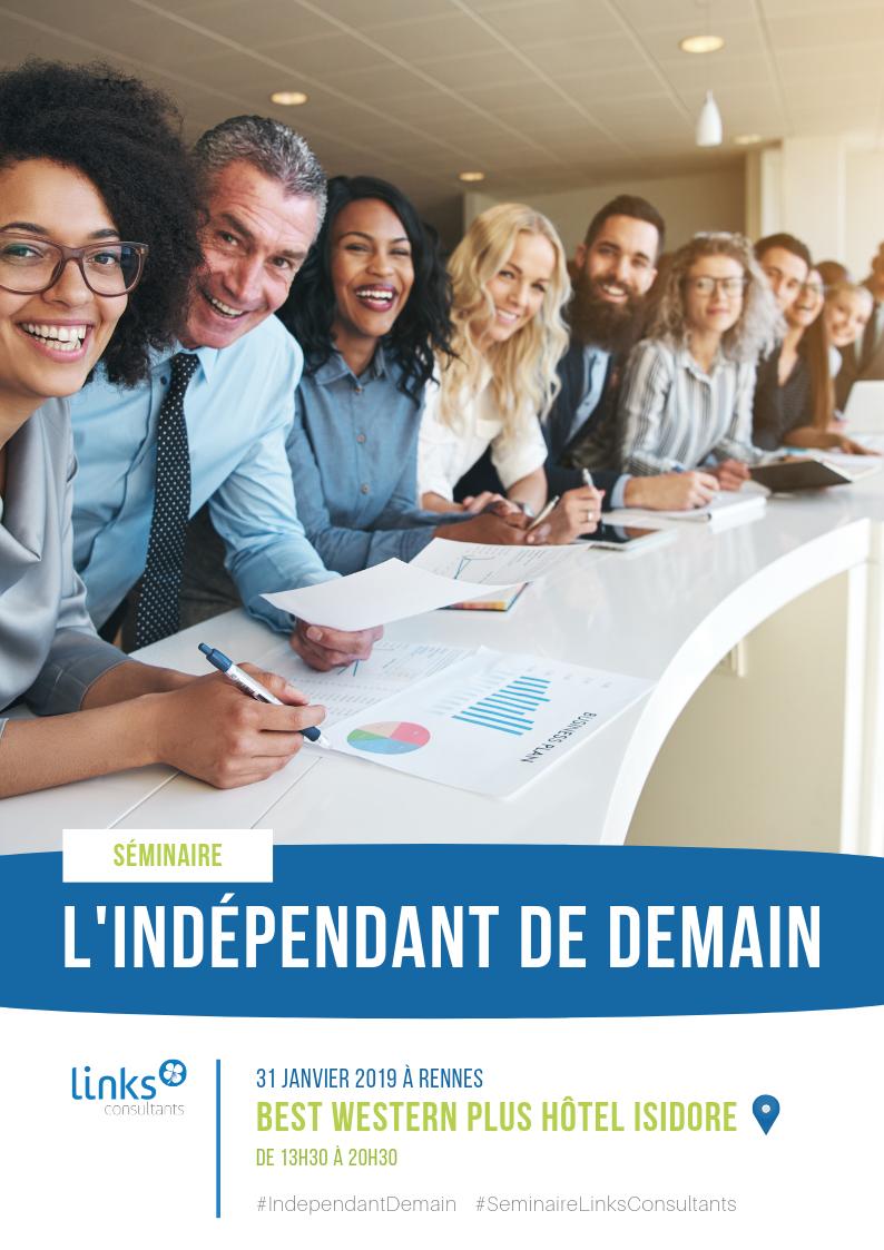 Séminaire Links Consultants - indépendant de demain - Rennes