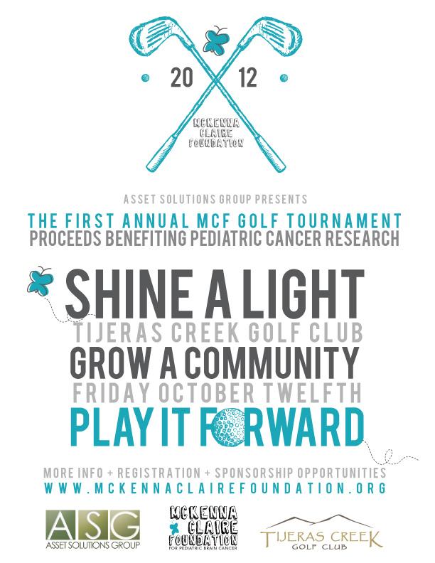 Golf Tournament 2012 Flyer Simple2