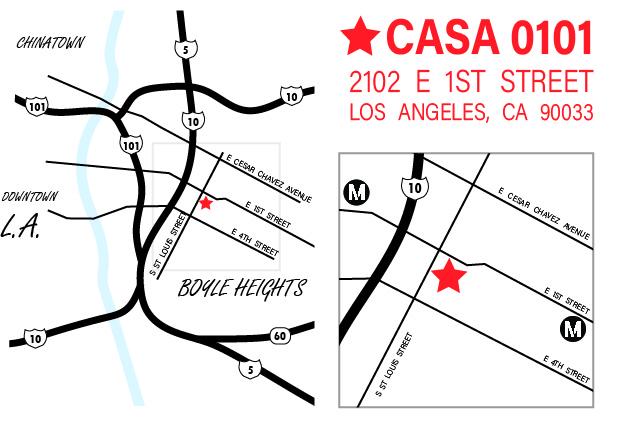 Casa 0101 Map