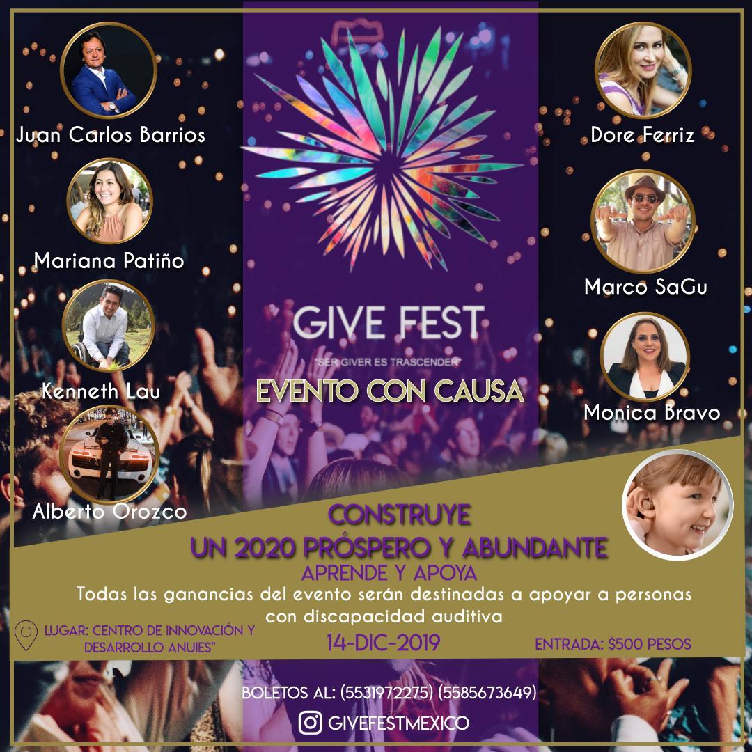 Line Up Give Fest México 2019