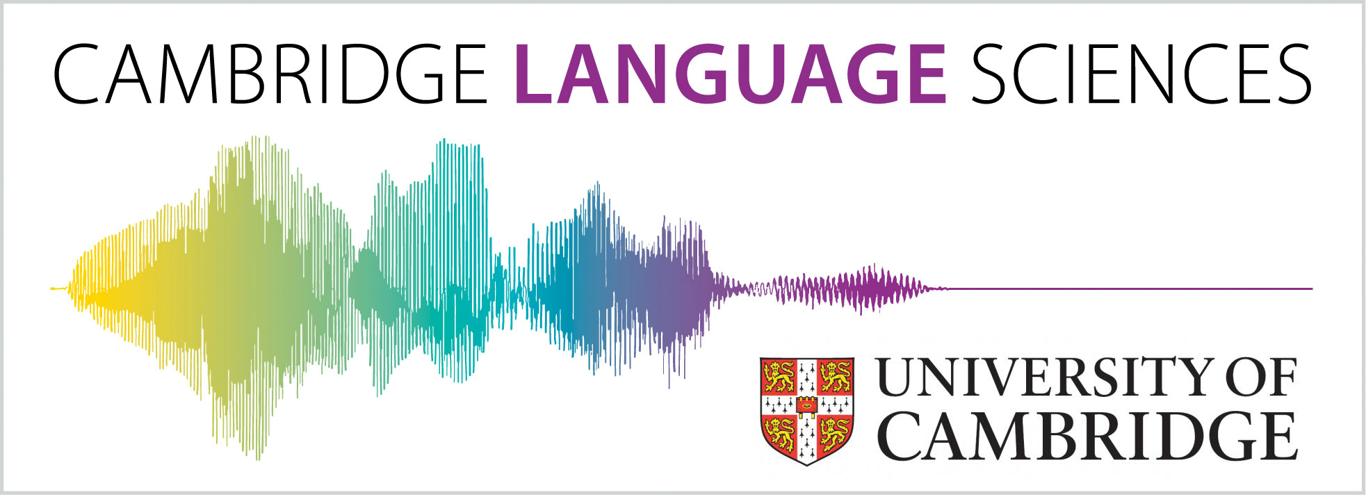 Cambridge Language Sciences & Cambridge University logo