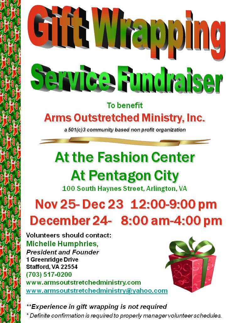 Gift Wrapping Fundraiser Gift Ftempo