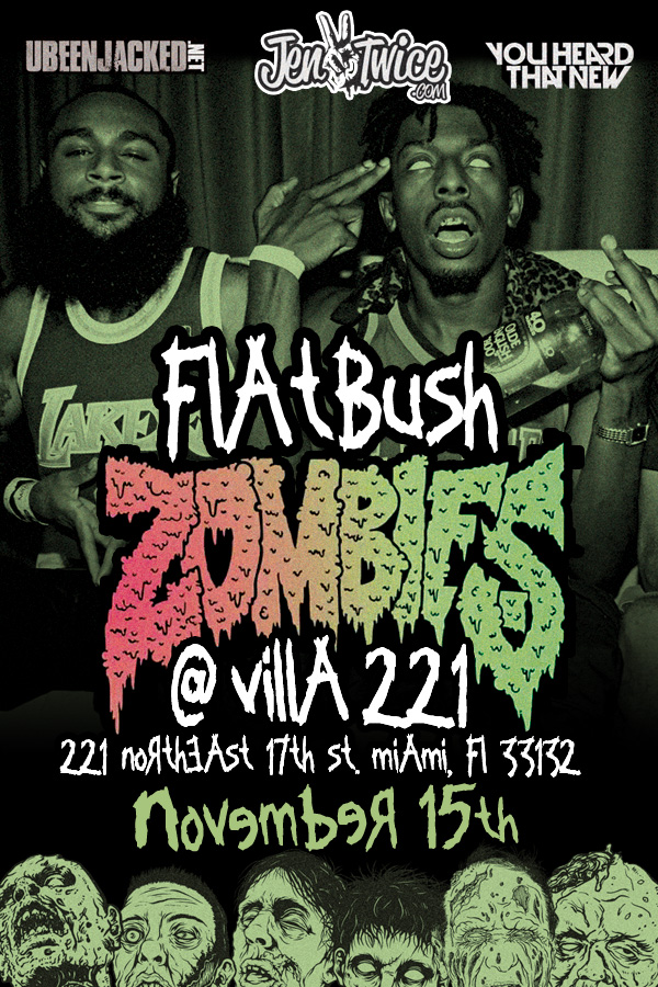 jentwice, music, hiphop, flatbush zombies, flatbush, zombies, rap, miami