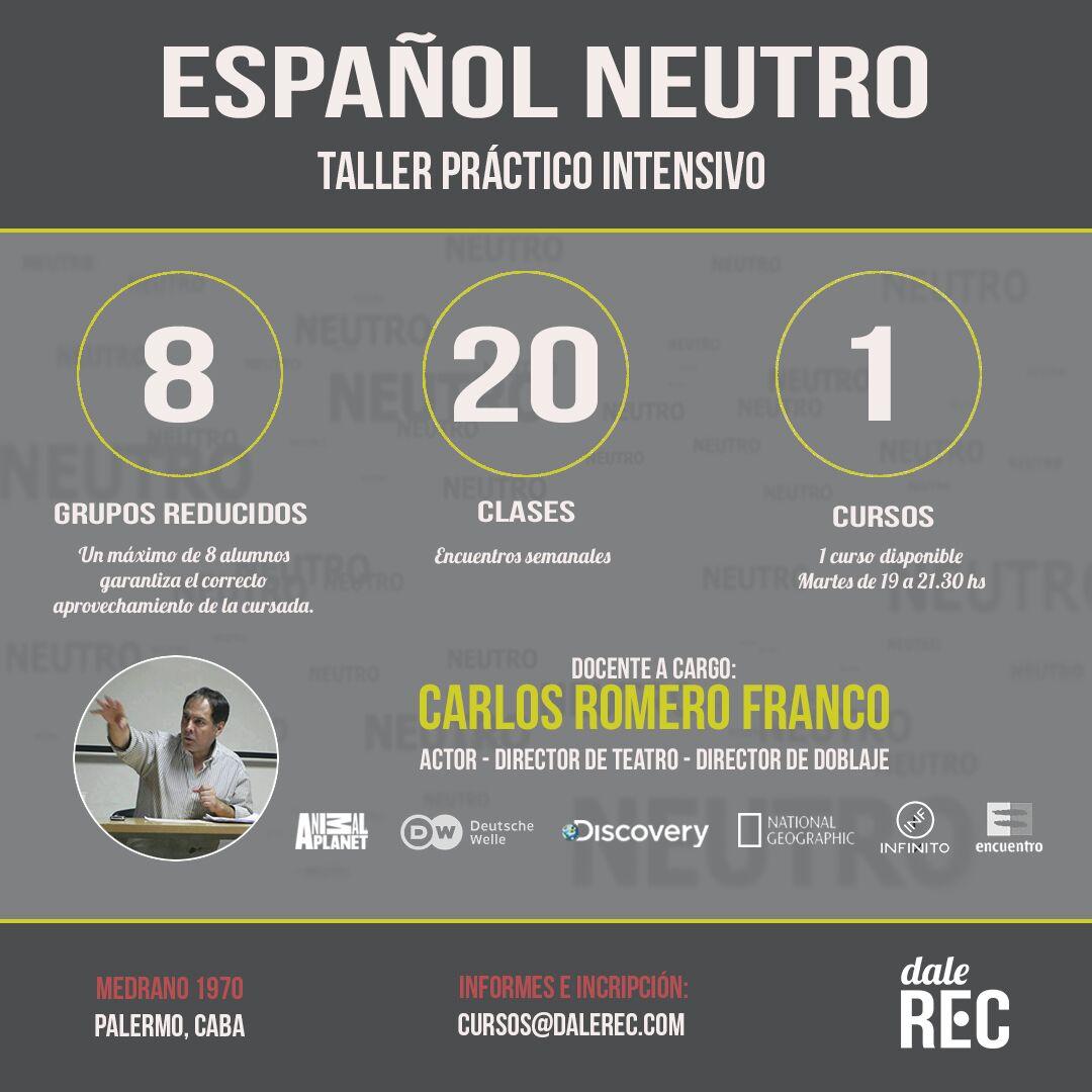 Taller Español Neutro