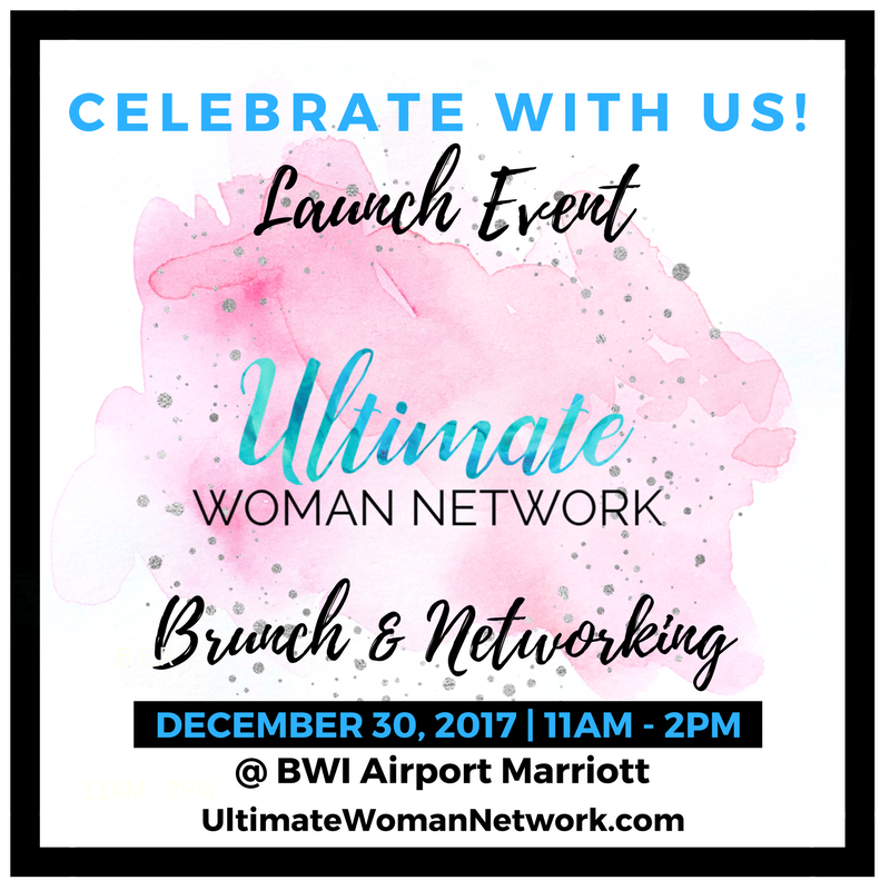 Ultimate Woman Network Launch Event Flyer