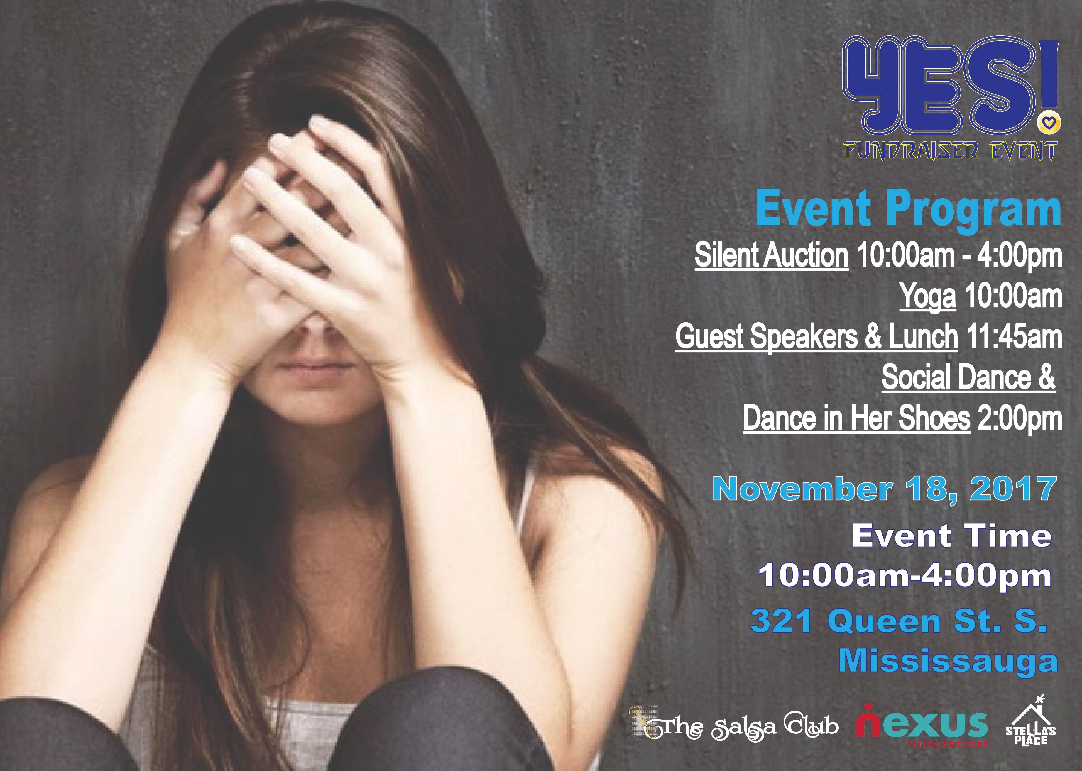 YES! Fundraiser Event - Youth Mental Health Awareness & Fundraising