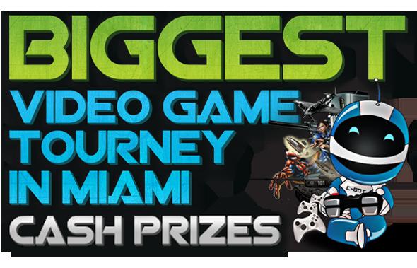 Biggest Video Game Tournament in Miami