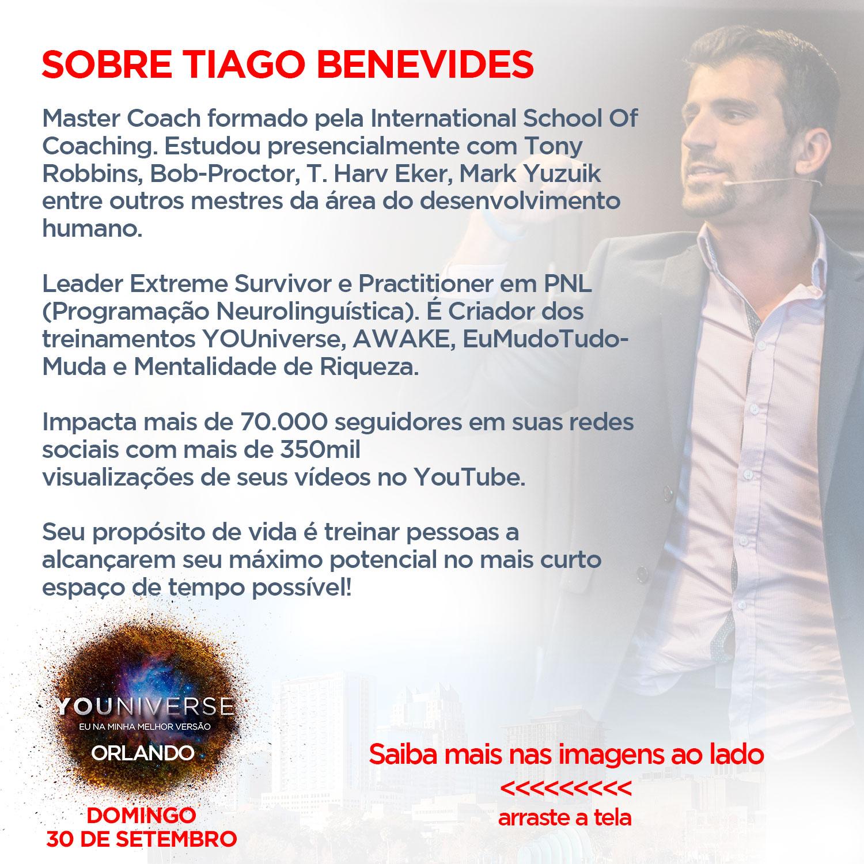 Youniverse - Eu Na Minha Melhor Versão - Orlando - Tiago Benevides
