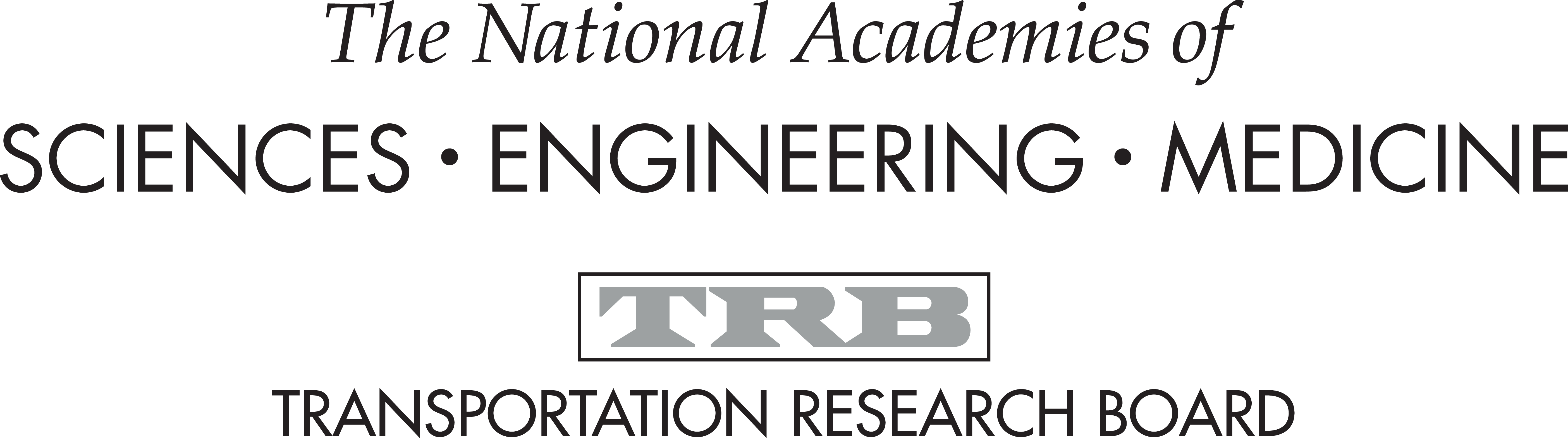 National Academies of Sciences, Engineering, and Medicine logo