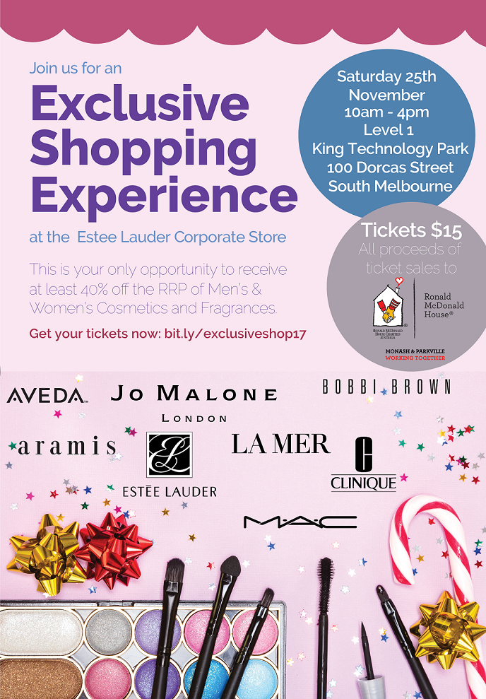 Flyer for Exclusive Shopping Experience